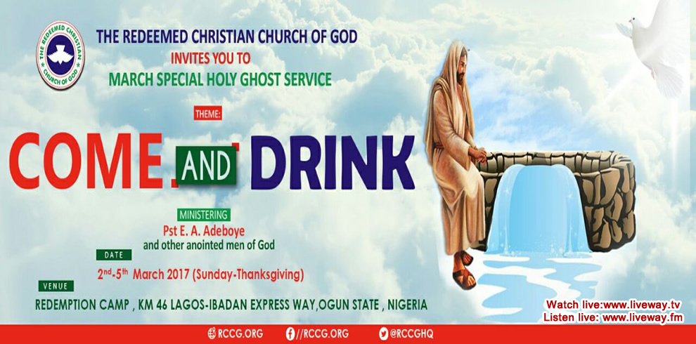 March Special Holy Ghost Service