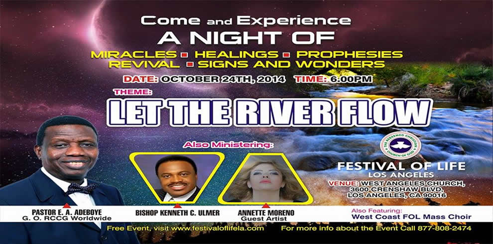 October 2014 Holy Ghost Service: Overflowing Greatness